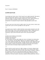 Tercüman Prof. Dr. İbrahim DEMİRKAN (K)ÖMÜR ŞEHİTLERİ O gün
