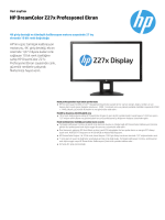 HP DreamColor Z27x Profesyonel Ekran