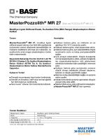 MasterPozzolith® MR 27 (Eski adı POZZOLITH® MR 27