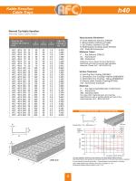 H40 Normal Tip Kablo Kanalları - AFC Metal, Metal Kablo Taşıma