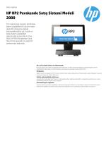 HP RP2 Perakende Satış Sistemi Modeli 2000 - Hewlett
