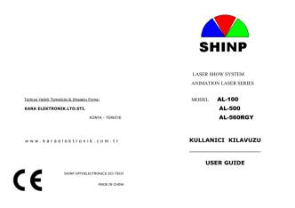 al-500 al-560rgy kullanıcı kılavuzu user guıde
