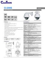 CAMTRON CI-200S 2MP IP SPEED DOME KAMERA