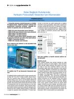 Solar Bağlantı Kutularında Yerleşim Fotovoltaik