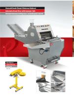 Otomatik Bantlı Ekmek Dilimleme Makinesi