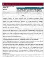 Klinik Eczacılık Servislerinin Tanıtımı