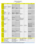 2014-2015 Güz Yarıyılı II. Öğretim Ders Programı
