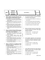 Test 15 - Açı Dershaneleri
