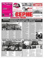 27.02.2014 Tarihli Cephe Gazetesi
