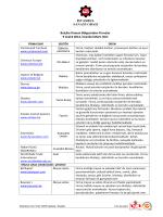 İkili görüşmelerde yer alan firma listesi Attach