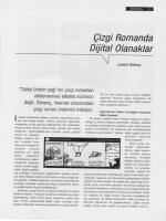 Çizgi Romanda Dijital Olanaklar
