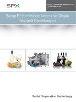 Şarap Endüstrisinde Verimli Ve Düşük Maliyetli Klarifikasyon