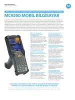MC9200 Mobil Bilgisayar