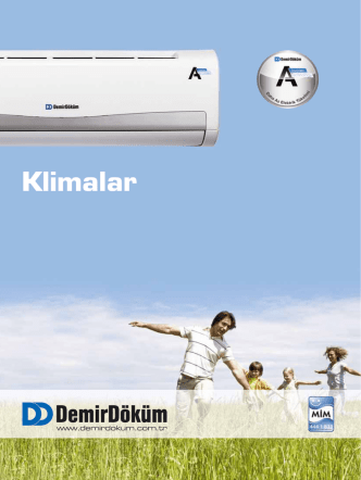 A 4 Duvar Tipi Inverter Klima Broşürü   PDF