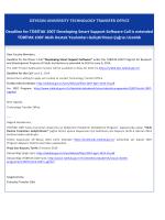 TÜBİTAK 1007 Akıllı Destek Yazılımları Geliştirilmesi Çağrısı Uzatıldı