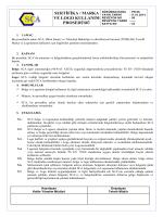 sertifika / marka ve logo kullanım prosedürü