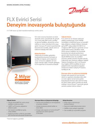 Danfoss FLX Broşür