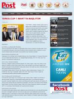 İÜest - Tarka-Cup