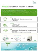 AmoyDx Onkoloji Parametre Listesi