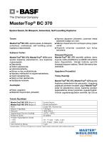 MasterTop® BC 370