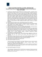Zeyilname - Aras Elektrik Dağıtım A.Ş.