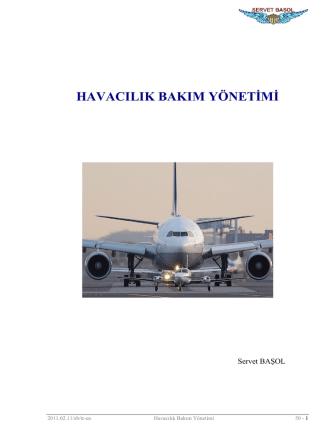 120312-Havacilik Bakim Yönetimi