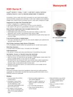 H3D Serisi S - Honeywell Security