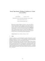 Sistem Algoritmaları Modelleme, Simülasyon ve - CEUR