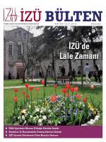 Mart 2014 bülteni - İstanbul Sabahattin Zaim Üniversitesi