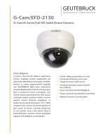 G-Cam/EFD-2130 - GEUTEBRÜCK GmbH
