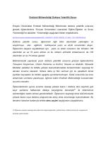 Sınav Yönetmeliği ve Konular - Endüstri Mühendisliği Bölümü