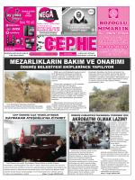 28.10.2014 Tarihli Cephe Gazetesi