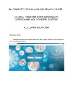 ulusal hastane enfeksiyonları sürveyans ağı yönetim sistemi