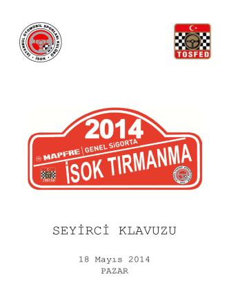 4-2014 SEYİRCİ -BIÇKIDERE YÖNLENDİRME