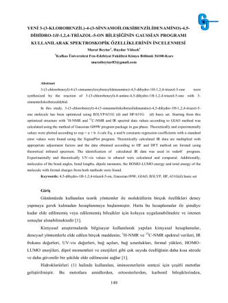 3-p-METOKSİBENZİL-4-AMİNO-4,5-DİHİDRO-1H-1,2,4-TRİAZOL