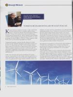 Enerji Mimarı Dergisi Röportajı