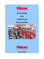 wtm londra 2014 turizm fuarı sonuç raporu