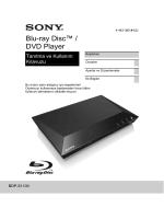 Blu-ray Disc™ / DVD Player