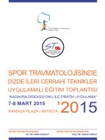 spor travmatolojisinde - TOTBİD | Türk Ortopedi ve Travmatoloji