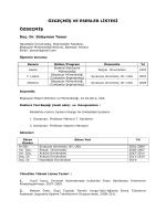 Süleyman TOSUN - Bilgisayar Mühendisliği