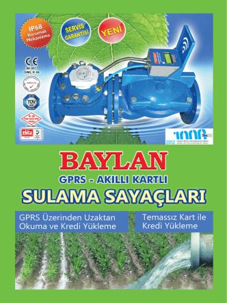 Broşürü İndirin - Baylan Su Sayaçları