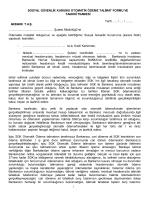 SGK Otomatik Ödeme Talimat Formu ve Taahhütnamesi