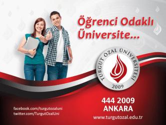 30 - Turgut Özal Üniversitesi