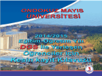 Transkript belgesi. - OMÜ-Öğrenci İşleri Daire Başkanlığı