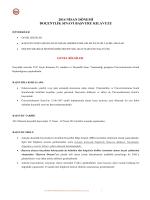 2014 nđsan dönemđ doçentlđk sınavı başvuru kılavuzu