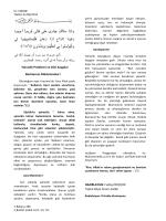 01.08.2014 yalnızlık problemi ve dini kaygılar