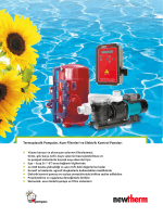 Termoplastik Pompalar, Kum Filtreleri ve Elektrik Kontrol Panoları