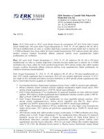 ERK Denetim ve Yeminli Mali Müşavirlik Hizmetleri Ltd. Şti