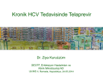 Kronik HCV Tedavisinde Telaprevir