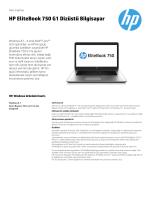 HP EliteBook 750 G1 Dizüstü Bilgisayar